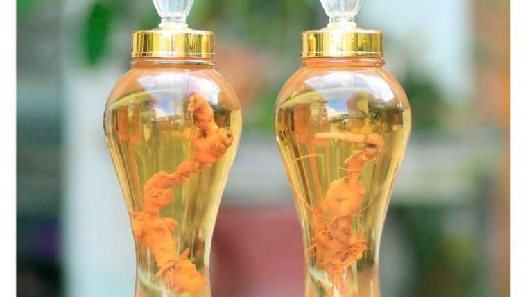 rượu Sâm Ngọc Linh